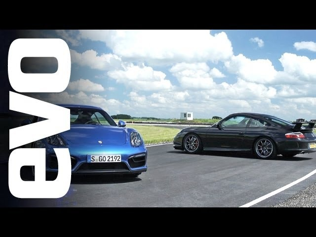 <em>Porsche</em> 911 GT3 vs Cayman GTS | evo TRACK BATTLE