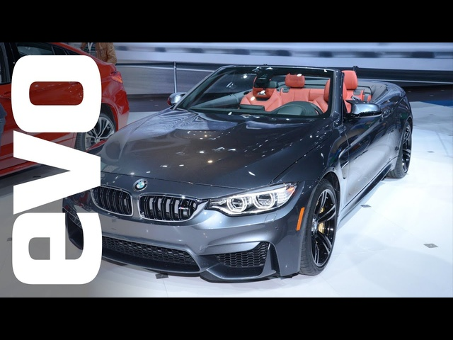 <em>BMW</em> M4 Convertible at New York Auto Show 2014 | evo MOTOR SHOWS