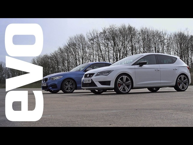 <em>BMW</em> M235i vs SEAT Leon Cupra | evo DRAG BATTLE