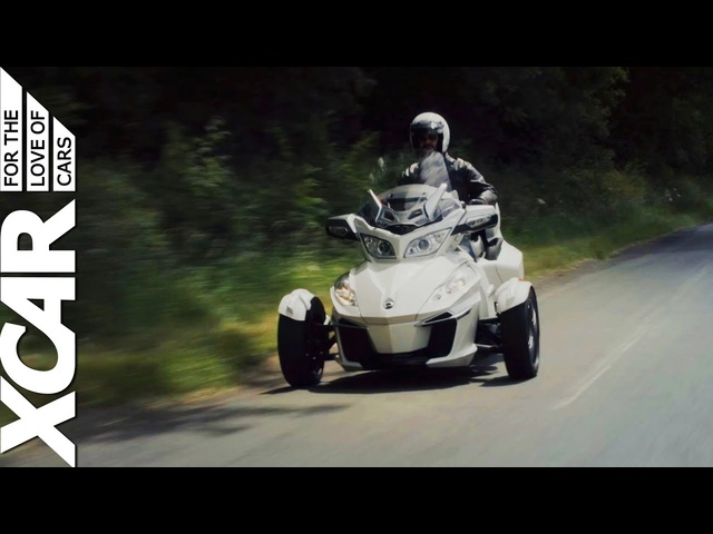 Can-Am Spyder: The Most Fun You Can Have on Three Wheels -XCAR