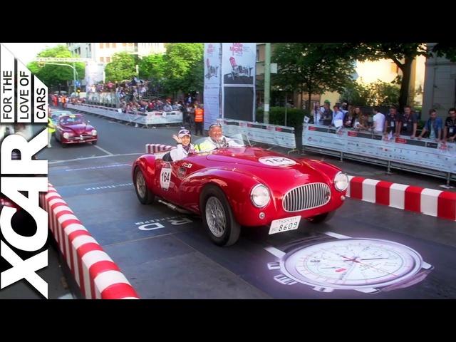 2014 Mille Miglia: AFront Row <em>Seat</em> in aJaguar F-Type R -XCAR