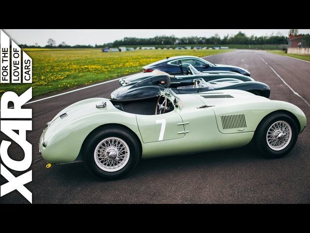 Jaguar: From C-Type to F-Type - XCAR