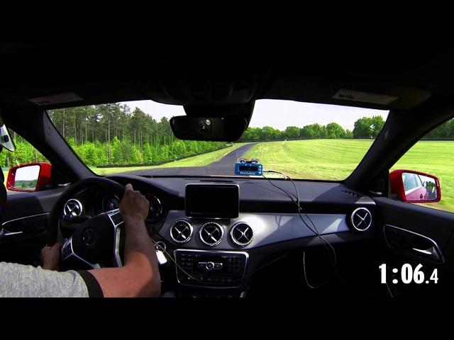 2014 Lightning Lap: Mercedes-Benz CLA45 AMG