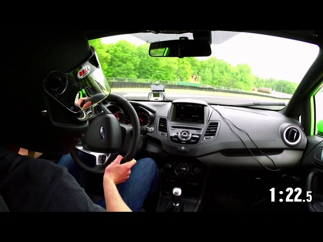 2014 Lightning Lap: <em>Ford</em> Fiesta ST