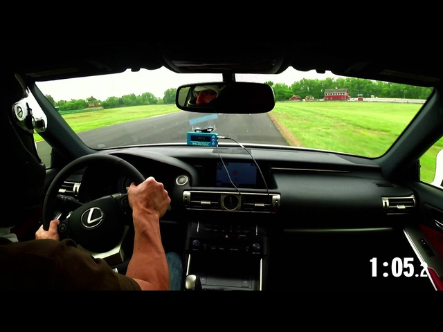 2014 Lightning Lap: Lexus IS350 F Sport