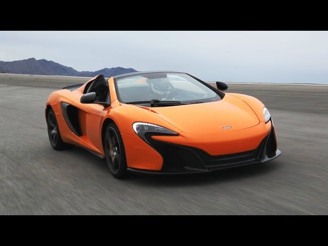 2015 <em>McLaren</em> 650S Spider Hits the Track