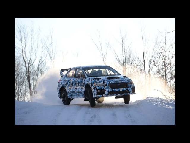 <em>Subaru</em> WRX STI Rally Car | AROUND THE BLOCK