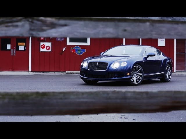 2015 <em>Bentley</em> Continental GT Speed | AROUND THE BLOCK