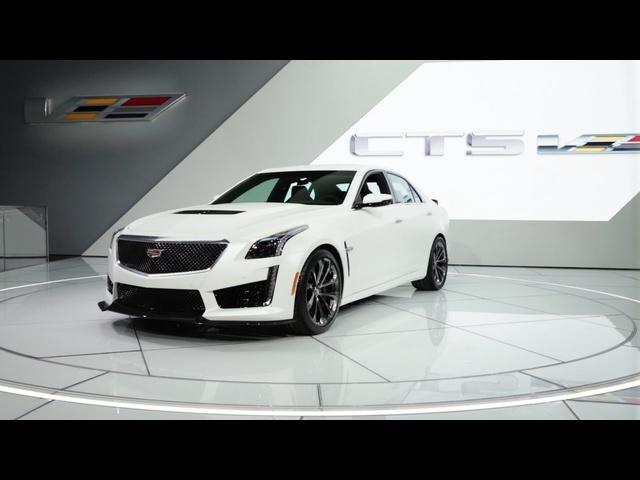 2016 CADILLAC CTS-V | 2015 Detroit Auto Show
