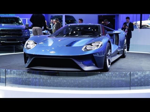 FORD GT, SHELBY GT350R, F-150 RAPTOR | 2015 Detroit Auto Show