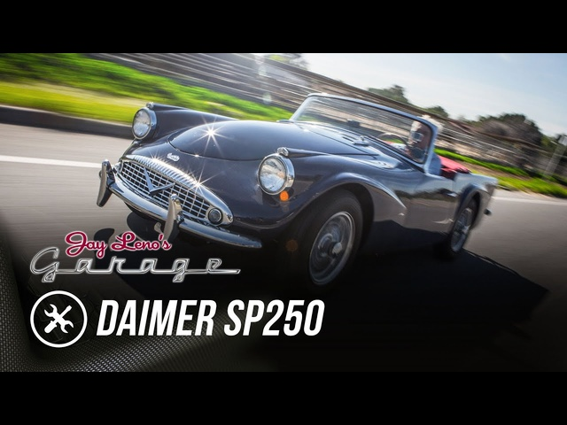 1962 Daimler SP250 -Jay Leno's Garage