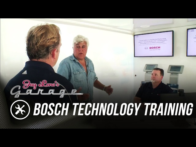 Bosch Technology Training Truck - Jay Leno's Garage