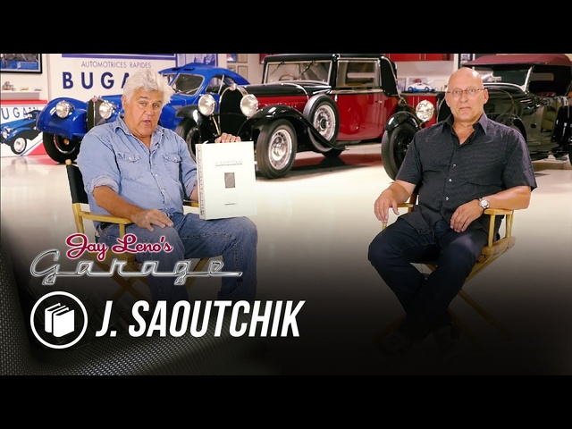 Jay's Book Club: J. Saoutchik -Jay Leno's Garage