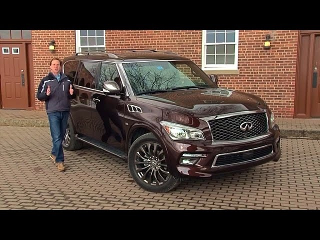 2015 Infiniti QX80 Limited - TestDriveNow.com Review by Auto Critic Steve Hammes