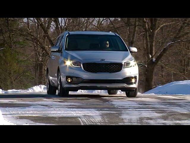 2015 Kia Sedona SXL -TestDriveNow.com Review by Auto Critic Steve Hammes | TestDriveNow