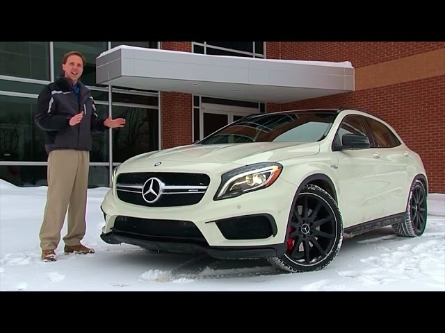 2015 <em>Mercedes</em>-Benz GLA45 AMG - TestDriveNow.com Review by Auto Critic Steve Hammes
