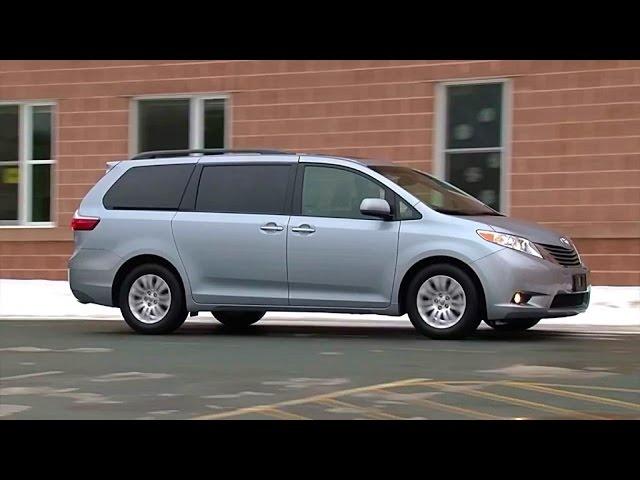 2015 <em>Toyota</em> Sienna -TestDriveNow.com Review by Auto Critic Steve Hammes