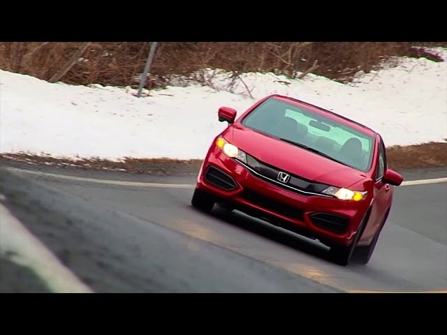 2015 Honda Civic Coupe 5MT - TestDriveNow.com Review by Auto Critic Steve Hammes | TestDriveNow