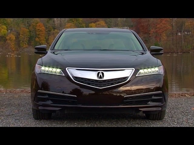2015 Acura TLX 2.4L - TestDriveNow.com Review by Auto Critic Steve Hammes