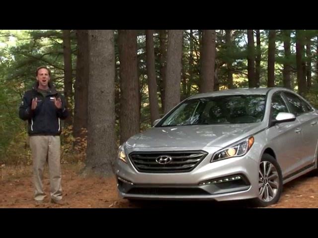 2015 Hyundai Sonata Sport -TestDrvieNow.com Review by Auto Critic Steve Hammes