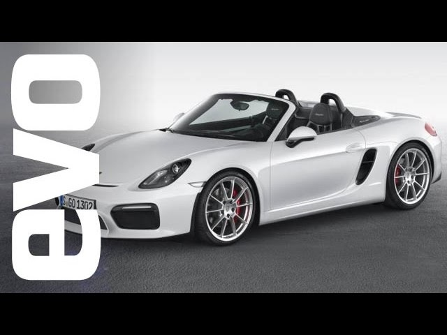 Porsche Boxster Spyder at New York 2015 | evo MOTORSHOWS