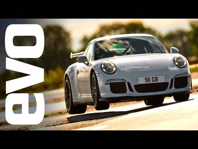 Porsche 911 GT3 on board footage | evo TCOTY
