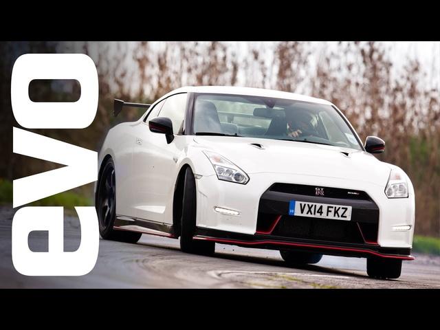 <em>Nissan</em> GT-R Nismo on board footage | evo TCOTY