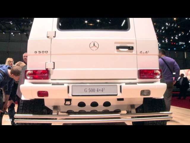 <em>Mercedes</em> G500 4x4 Squared at Geneva 2015 | evo MOTOR SHOWS
