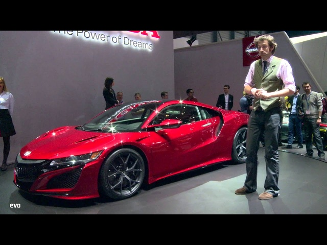 <em>Honda</em> NSX at Geneva 2015 | evo MOTOR SHOWS