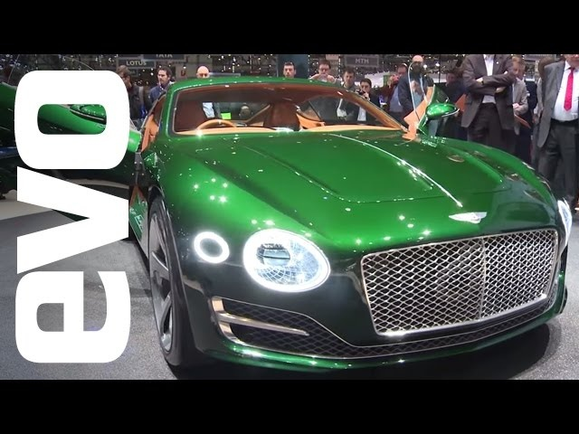 Bentley EXP10 Speed 6 at Geneva 2015 | evo MOTOR SHOWS
