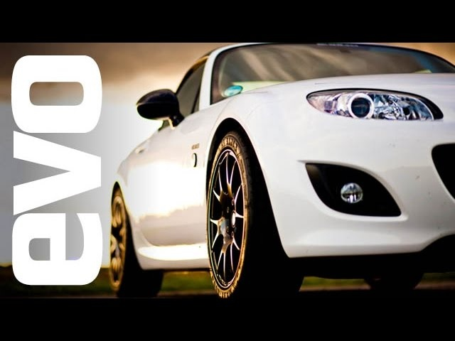 BBR <em>Mazda</em> MX5 GT270 on board footage | evo TCOTY