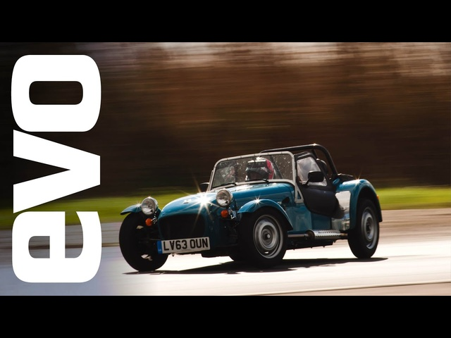 Caterham Seven 160 on board footage | evo TCOTY
