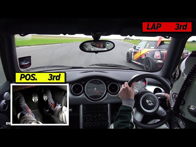 Best Motoring Mini Cooper race | evo TRACK BATTLE