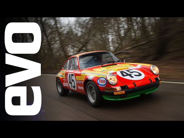 1969 Porsche 911 S rally car | INSIDE evo