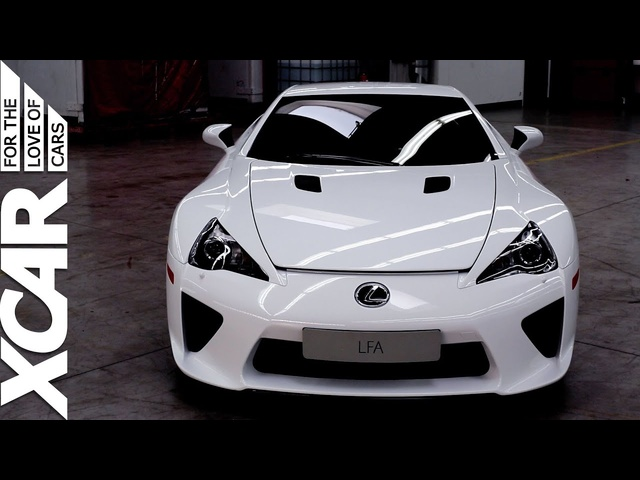Lexus LFA: Inside the TMG service centre - XCAR