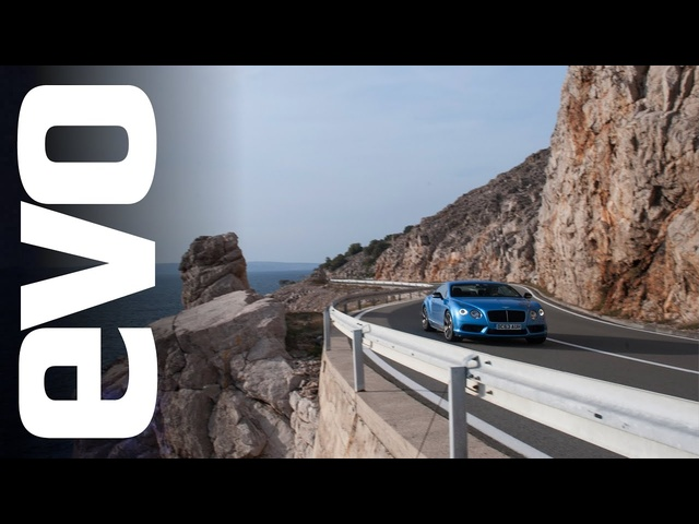 <em>Bentley</em> in Croatia - behind the scenes road trip | evo DIARIES