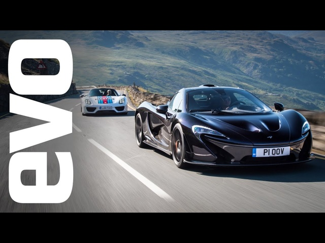 <em>McLaren</em> P1 v Porsche 918 Spyder. Which is fastest? evo Track Battle