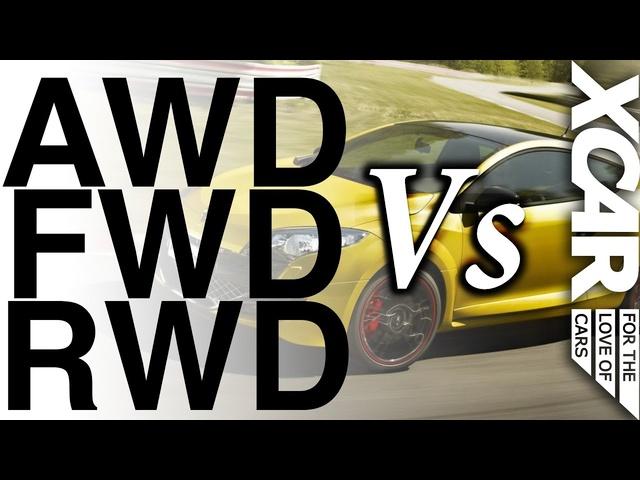 AWD vs FWD vs RWD: Who Wins? -XCAR
