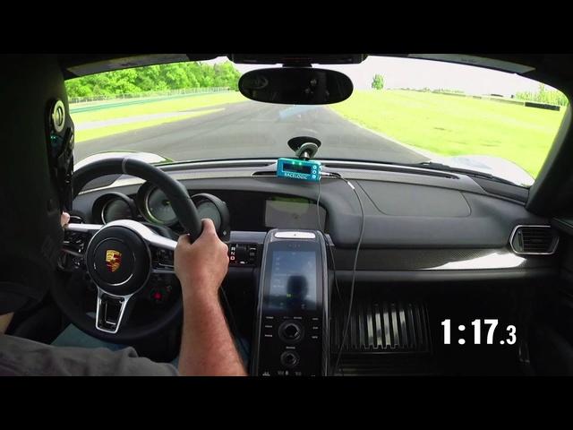 2014 Lightning Lap: <em>Porsche</em> 918 Spyder