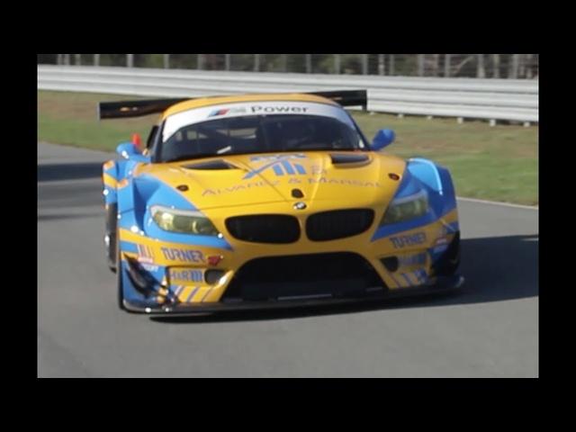 Driving Turner Motorsports' <em>BMW</em> Z4 GTD -/MATT FARAH