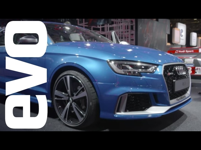 <em>Audi</em> RS3 saloon preview | evo MOTOR SHOWS