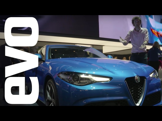 Alfa Romeo Giulia Veloce - 276bhp and four-wheel drive | evo MOTOR SHOWS