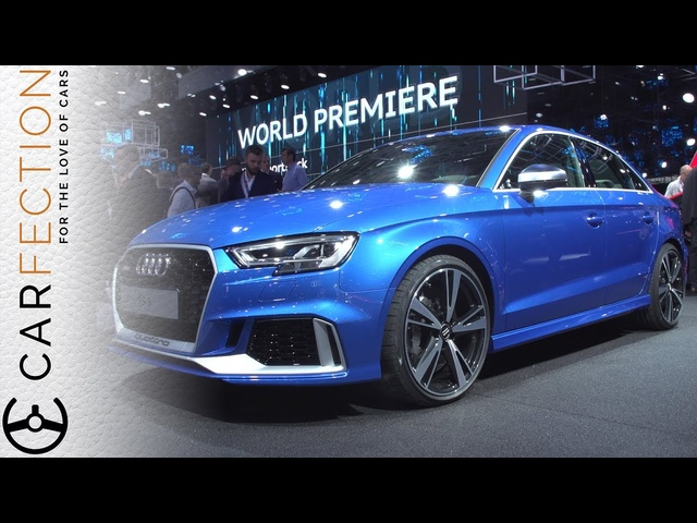<em>Audi</em> RS 3 Saloon: 400 Horses, 174mph, Room For Stuff - Carfection