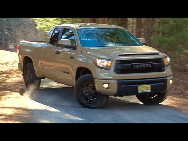 Toyota Tundra TRD Pro 2016 Review