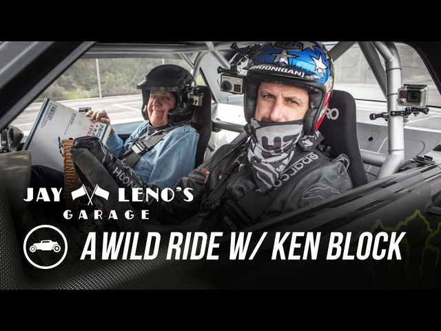 YouTube Rally Driver Ken Block Takes Jay For A Wild Ride - Jay Leno's Garage