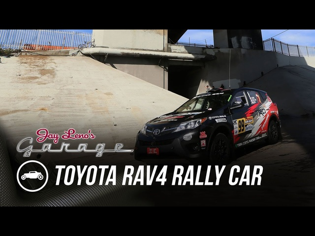 2015 <em>Toyota</em> RAV4 Rally Car - Jay Leno's Garage