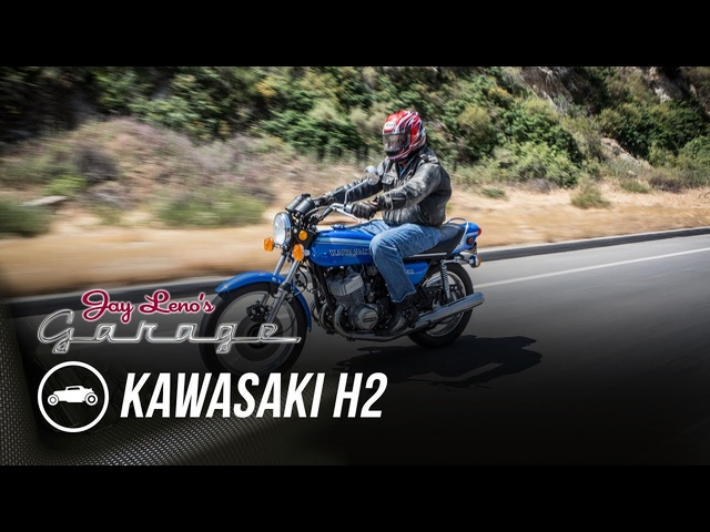 Kawasaki H2, Now and Then - Jay Leno's Garage