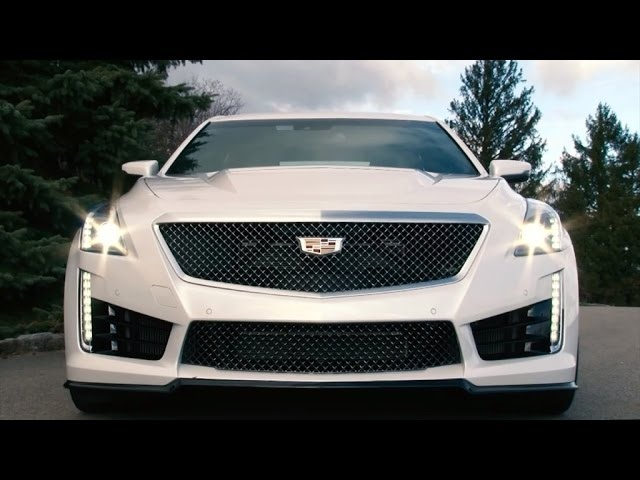 Cadillac CTS-V 2016 Review