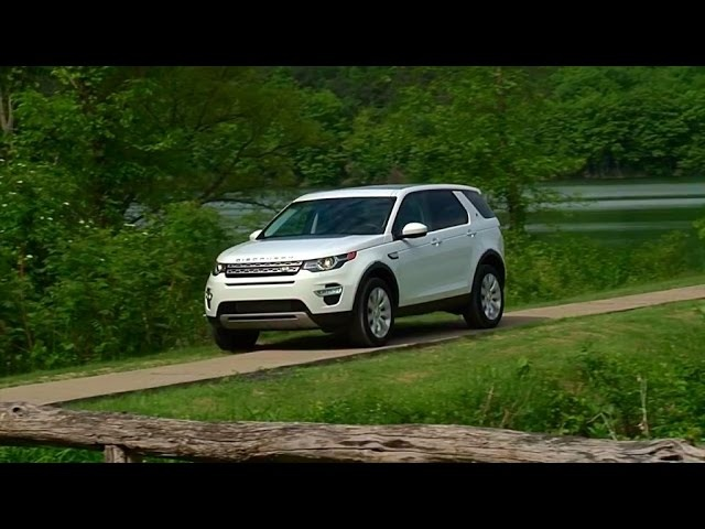 2015 Land Rover Discovery Sport - TestDriveNow.com Review by Auto Critic Steve Hammes | TestDriveNow