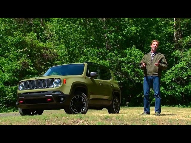 2015 <em>Jeep</em> Renegade Trailhawk - TestDriveNow.com Review by Auto Critic Steve Hammes